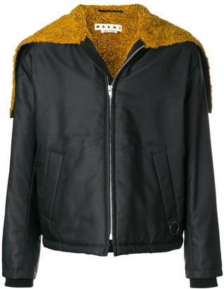 Marni Satin Bomber Jacket