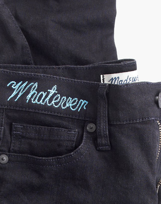 """Madewell Tall 9"""" High-Rise Skinny Jeans in Black Frost"""