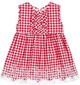 Mayoral Red Gingham Dress