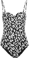 Prism St Barts leopard-print underwired swimsuit