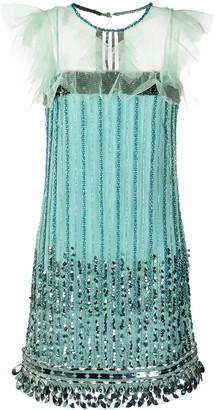 Alberta Ferretti Sequin-Embellished Dress