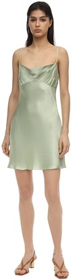 Bec & Bridge CREST SATIN MINI DRESS