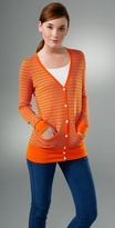 Millions of Smiles Striped Long Cardigan