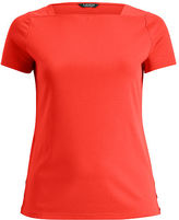 Ralph Lauren Woman Stretch Cotton Boatneck Tee