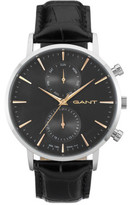 Gant Park Hill Day-Date Steel, Grey W/ Rose Highlights