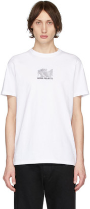Norse Projects White Topo Niels T-Shirt