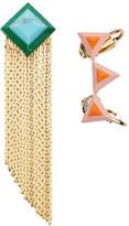 Fendi Rainbow earring set