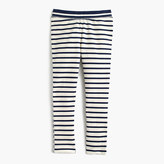 J.Crew Girls' cozy everyday leggings in combo stripe