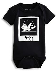Sara Kety Unisex #Tbt Sonogram Bodysuit - Baby