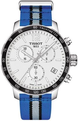 Tissot Men's Quickster Chronograph NBA Orlando Magic Watch, 42mm