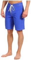 Lacoste Boardshort w/ Contrast Stitching 10.5 (Obscure Blue) - Apparel