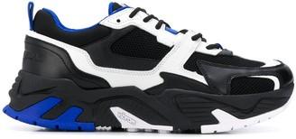 Marcelo Burlon County of Milan Contrast Panel Low-Top Sneakers