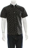A.P.C. Printed Button-Up Shirt