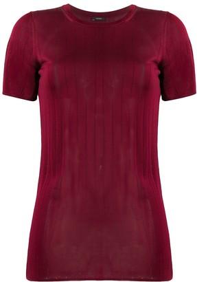Joseph Shinny ribbed slim-fit T-shirt