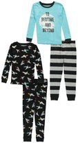 "Carter's Baby Boys' ""To Bedtime and Beyond"" 4-Piece Pajamas"