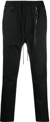 Mastermind Japan Dropped-Crotch Straight Leg Trousers