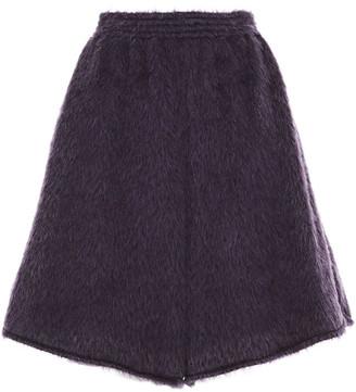 MM6 MAISON MARGIELA Brushed-knitted Shorts