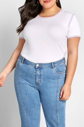 ModCloth Relaxed Throwback Ringer T-Shirt