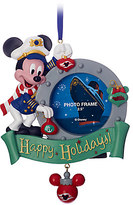 Disney Captain Mickey Mouse Photo Frame Ornament Cruise Line