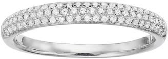 Vera Wang Simply Vera 14k White Gold 1/4 Carat T.W. Diamond Wedding Ring