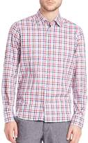 Saks Fifth Avenue Men's Button-Front Checked Shirt