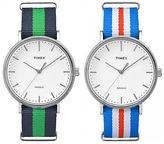 Timex Weekender Fairfield | White Minimal Dial | Casual Watch
