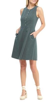 Gal Meets Glam Sleeveless Jacquard Fit & Flare Dress (Regular & Plus)