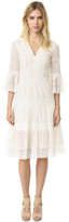 Temperley London Bell Sleeve Desdemona Lace Dress