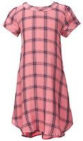 Copper Key Big Girls 7-16 Plaid High-Low Shift Dress