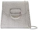Little Liffner D Tiny Box Lizard-effect Leather Shoulder Bag