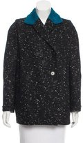 Carven Tweed Short Coat