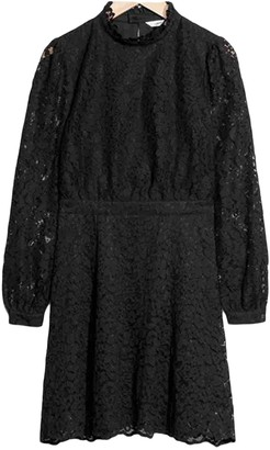 And other stories & & Stories Black Lace Dress for Women