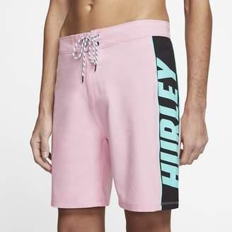 "Nike Men's 18"" Board Shorts Hurley Phantom Fast Lane"