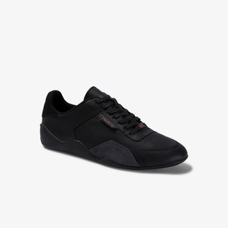 Lacoste Men's Hapona Leather and Synthetic Sneakers