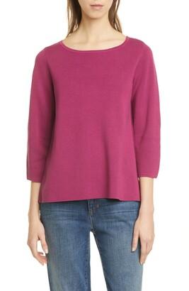Eileen Fisher Silk & Organic Cotton Sweater