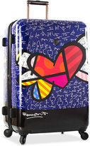 "Heys Britto Heart with Wings 30"" Expandable Hardside Spinner Suitcase"