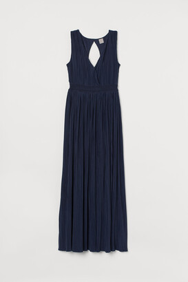 H&M Pleated long dress