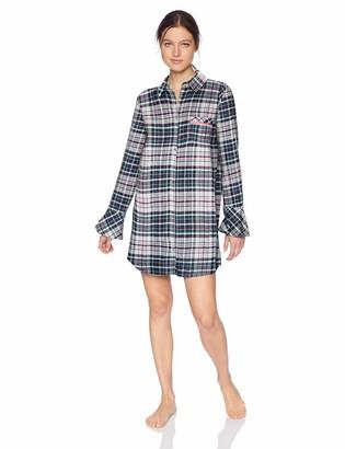 Jane & Bleecker Women's Brushed Flannel Sleepshirt