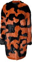 Diane von Furstenberg Rabbit Fur Coat