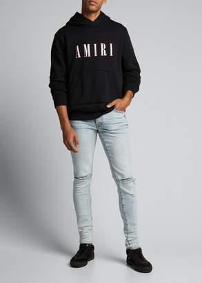 Amiri Men's Core Logo Hoodie Sweatshirt