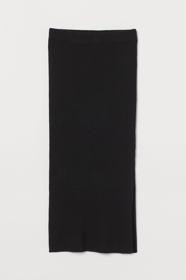Thumbnail for your product : H&M Rib-knit skirt