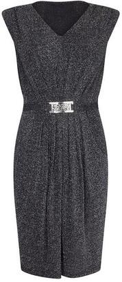 Yumi Belted Evening Dress