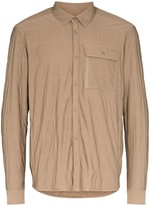 Snow Peak Insulated press-stud shirt
