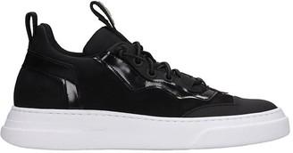 Bruno Bordese Sneakers In Black Nubuck