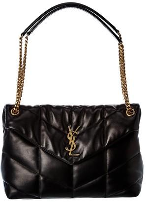 Saint Laurent Medium Loulou Puffer Leather Shoulder Bag