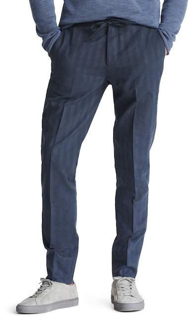 Bonobos Flat Front Cotton & Linen Blend Trousers