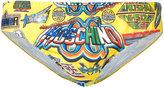 Moschino logo swimming trunks - men - Polyester/Spandex/Elastane - M