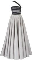 Amanda Wakeley Scope Steel Dress Mikado