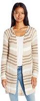 O'Neill Juniors Wild Rose Stripe Cardigan Sweater