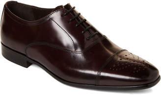 Bruno Magli Burgundy Cole Leather Oxfords